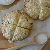 Almond Cherry Scones