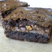 Killer Toffee Almond Brownies