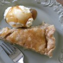 Tina's Caramel Apple Crunch Pie