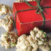 White Chocolate Christmas Candy