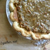 Praline Buttermilk Pie ~ M4S Link UP!