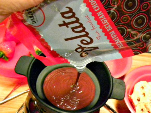 chocolate heaven fondue pot instructions