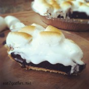 S'more Pie ~ Pie of the Month