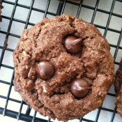 Birthdays and Triple Chocolate Oatmeal Cookies