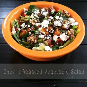 Chevre Roasted Vegetable Salad