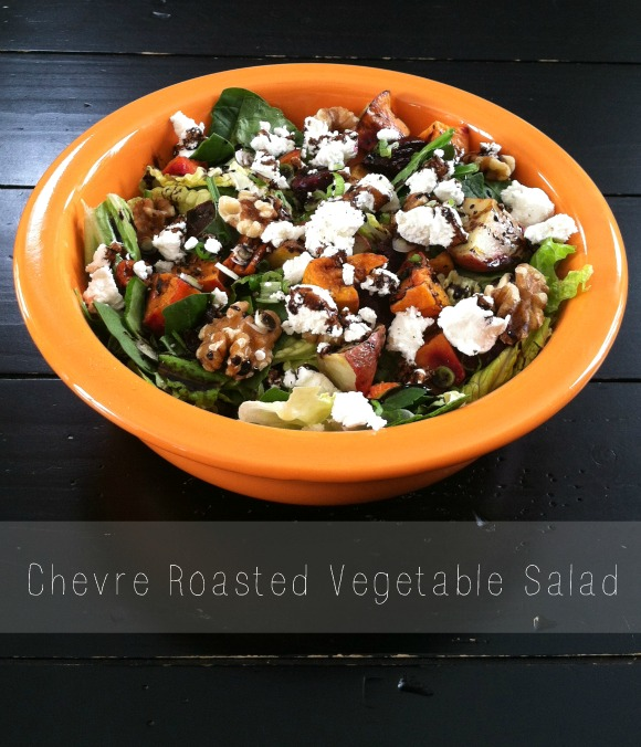 Chevre Roasted Vegetable Salad