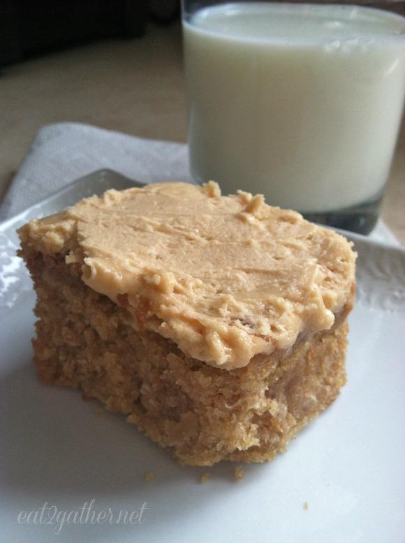 Peanut Butter Snack Cake