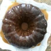 Caramel Toffee Bundt Cake