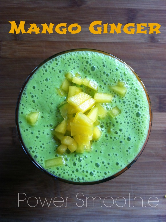 Mango Ginger Power Smoothie