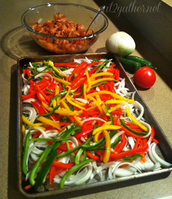 Chicken Fajitas (for a crowd)