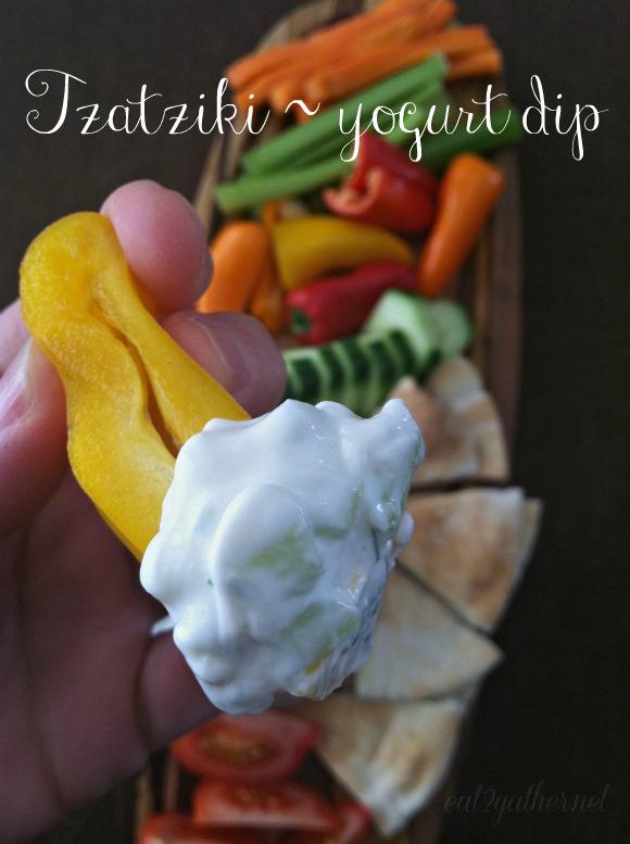 Tzatziki ~ yogurt dip