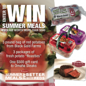 Better with Reds Summer Meals