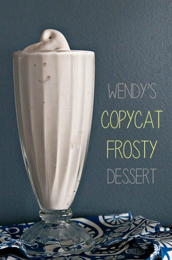 Wendy's Frosty (copycat) Dessert ~ Dine & Dish
