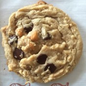 Cowboy Cookie ~ a peanut butter oatmeal chocolate chip cookie