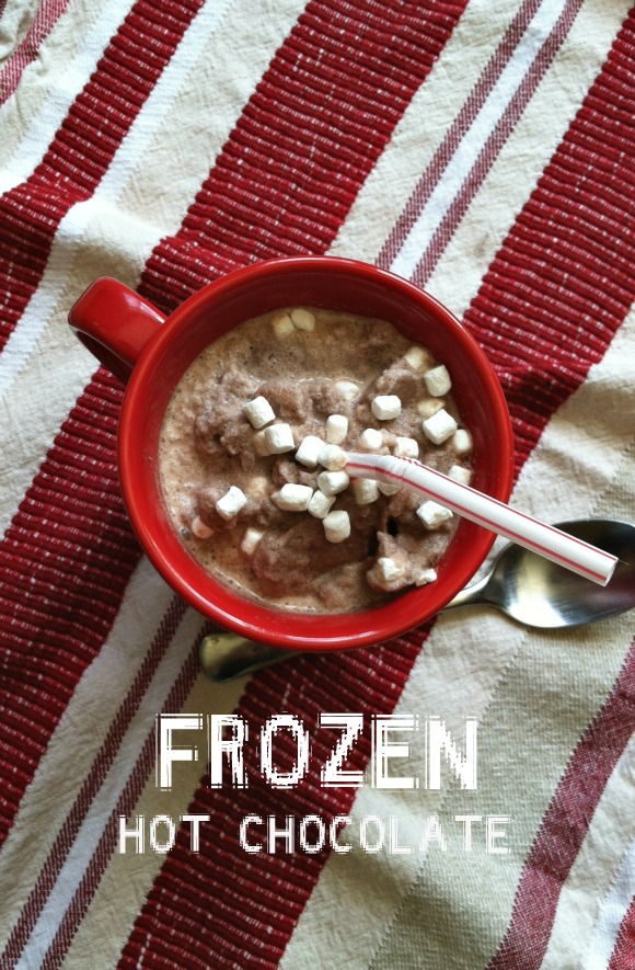 Frozen Hot Chocolate ~ Eat2gather.net