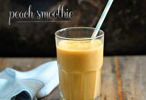 Peach Smoothie ~ Add a PInch