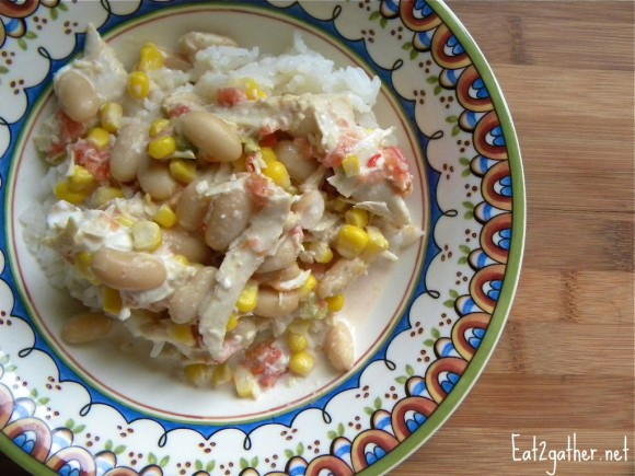 Meal Plan Monday ~ Rotel Crock Pot Chicken