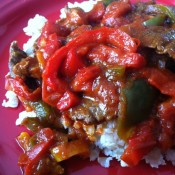 Meal Plan Monday – Pepper Steak