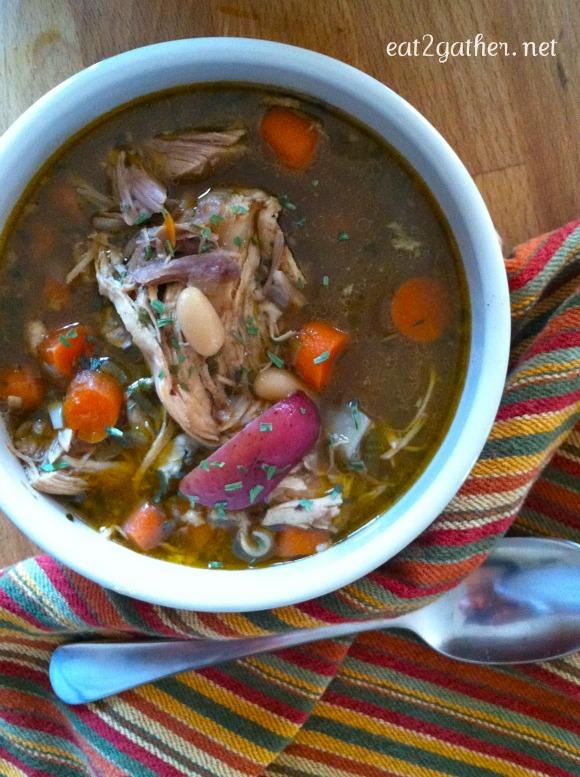Chicken Bean Stewp
