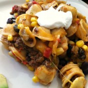 Meal Plan Monday – Tex-Mex Orecchietta Pasta