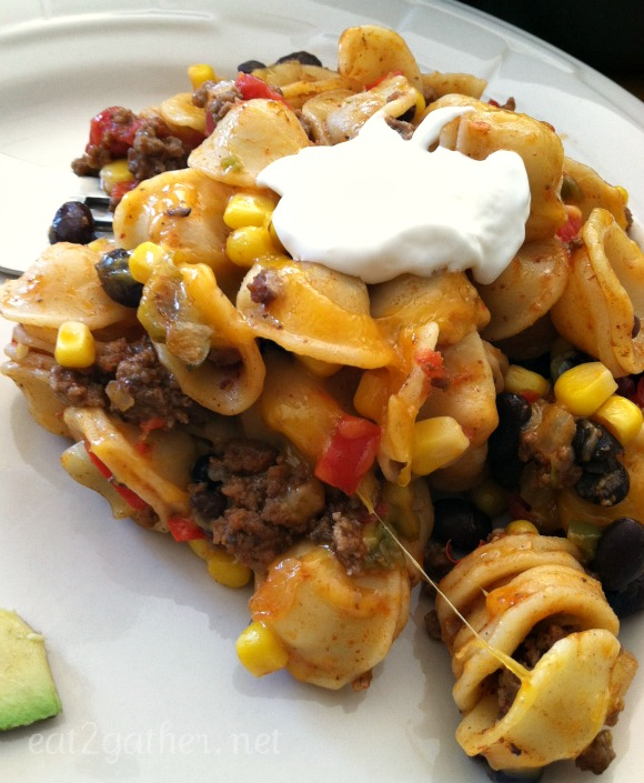 Tex-Mex Orecchietta Pasta