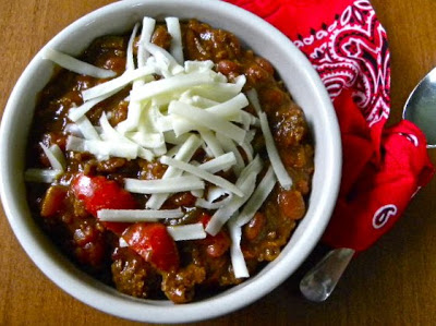 Classic Chili (ground beef and beans)