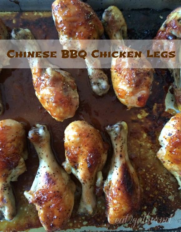 Chinese BBQ Chicken Legs