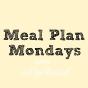 Monday Meal Plan – 15 minute meals