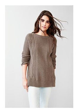 Gap Boyfriend Sweater in mushroom