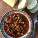 Three Bean Turkey Soup