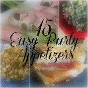 15 Easy Party Appetizers