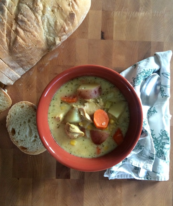 Chicken and Redskin Potato Soup