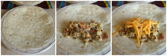 Breakfast Burritos - easy to make ahead and freeze!