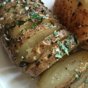 Herb Butter Baked Potatoes