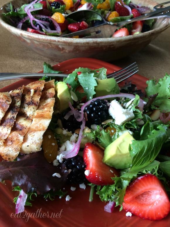 The Art of Making Salad