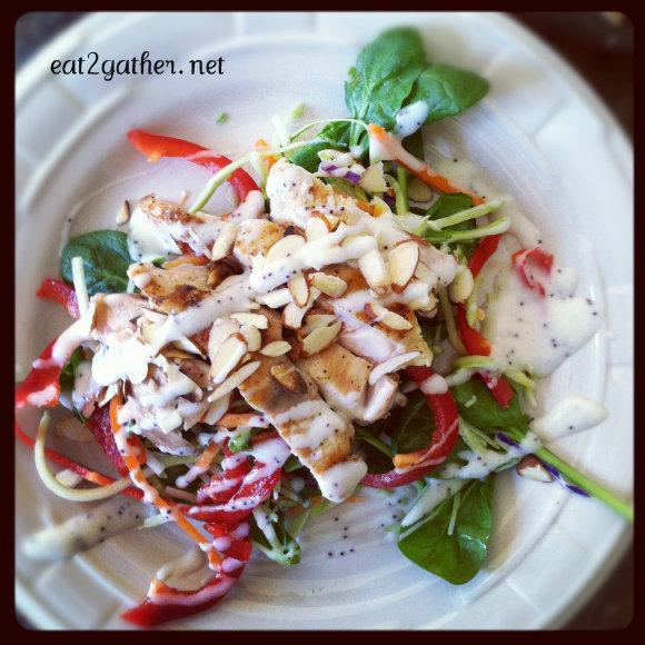 The Art of Making Salad - Thai Chicken Salad