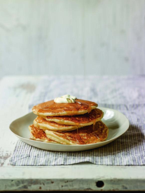 Tenderest Cardamom Pancakes ~ Yogurt Culture