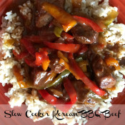 Slow Cooker Korean BBQ Beef