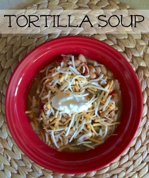 Tortilla Soup - quick meal!