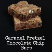 Caramel Pretzel Chocolate Chip Bars