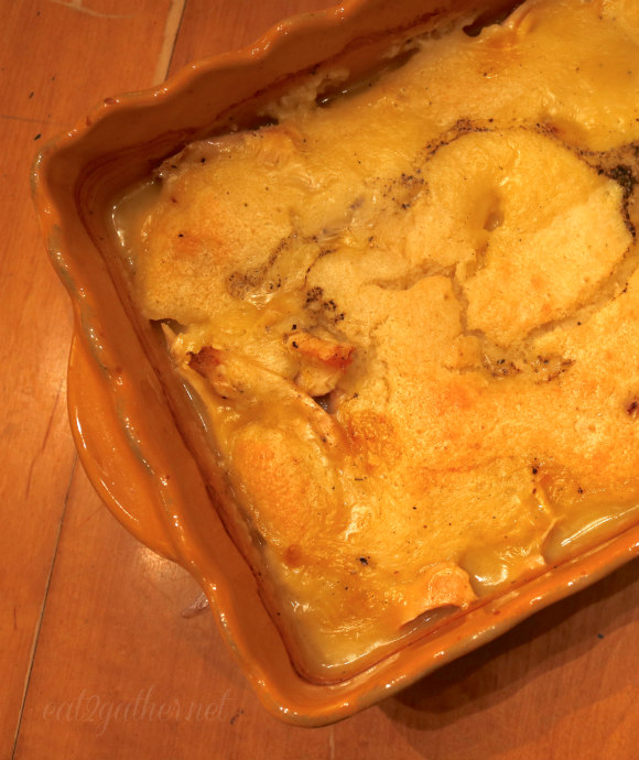 Easy Chicken Pie - great for using up leftover turkey!!