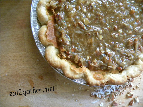 Praline Buttermilk Pie