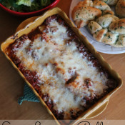 Easy Lasagna Roll Ups