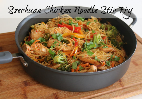 Szechuan Chicken and Noodles