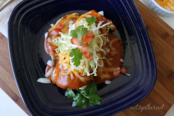 Wet Burritos - Grandma Beatty's Red Sauce Recipe