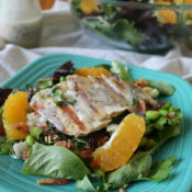 Chopped Sunflower Crunch Salad ~ Produce for Kids