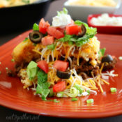 One Pan Taco Pie